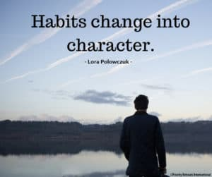 habits and character