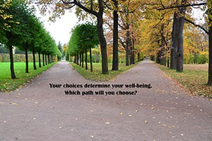 How choice determines your well-being.